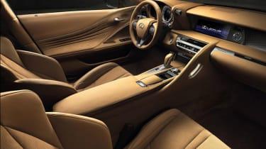 Lexus LC500 - interior