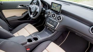 Mercedes A-Class - interior