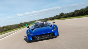 Dallara Stradale - full front action
