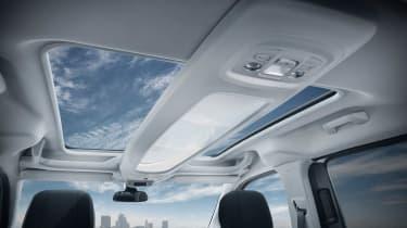 Peugeot Rifter - roof