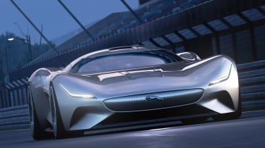 Jaguar Vision GT concept - full front