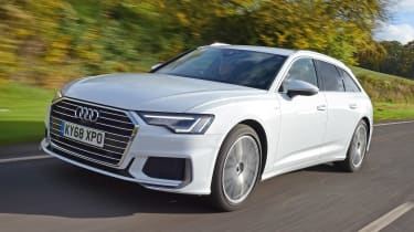 Audi A6 Avant - front