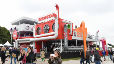 Honda Goodwood stand