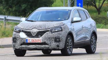 Renault Kadjar - spyshot 1