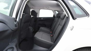 Fiat Tipo vs Skoda Rapid vs Citroen C4 - Rapid rear seats