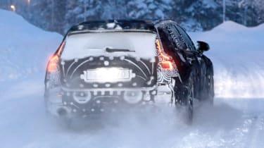 Volvo V60 spied - full rear
