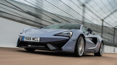 McLaren 570S Track Pack - front tracking