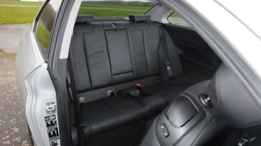 BMW 2 Series 220d rear seats