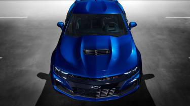 Chevrolet Camaro SS - above