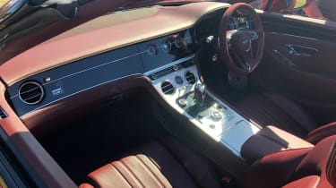 Bentley Continental GT Convertible Number 1 Edition Goodwood interior