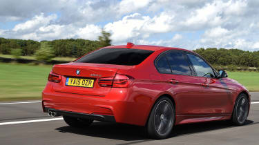 BMW 3 Series 2015 320d - rear tracking