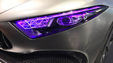 Mercedes Concept A headlight