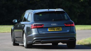 Audi A6 Avant - rear cornering
