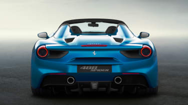 Aluminum construction means Spider has retained same torsional rigidity as coupé