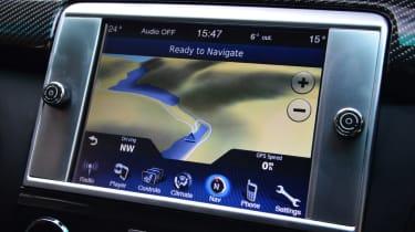 Maserati Quattroporte 2014 screen
