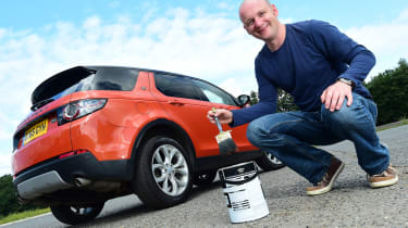 Land Rover Discovery Sport long-term - paint