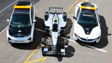 Qualcomm Halo Formula E safety cars