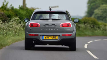 MINI Cooper Black Clubman - rear