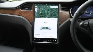 Tesla Model S - screen
