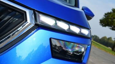 Skoda Kamiq - headlight
