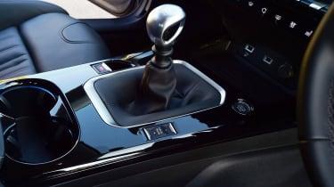 Peugeot 508 Fastback - gearstick