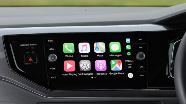 vw polo r-line infotainment