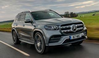 Mercedes GLS - front
