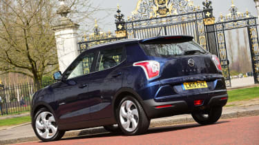 The Tivoli rivals the Nissan Juke and Renault Captur.
