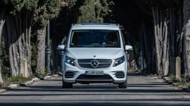 Mercedes V-Class Marco Polo - full front
