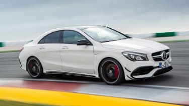 Mercedes CLA 45 AMG front
