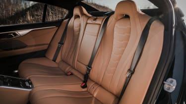 Alpina B8 Gran Coupe - rear seats