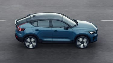 Volvo C40 - side action