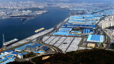 Best motoring features 2016 - Hyundai's Ulsan plant
