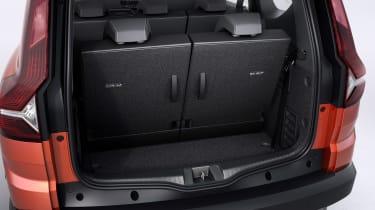 Dacia Jogger - boot seats up