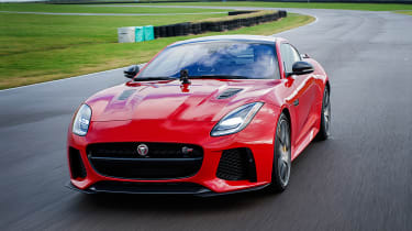 Jaguar F-Type SVR - track