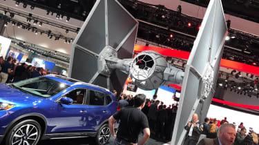 LA Motor Show 2016 - Nissan star wars