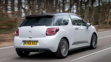 Used DS 3 - rear action
