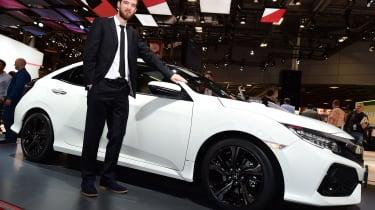 Best cars of the 2016 Paris Motor Show - Sam, Civic