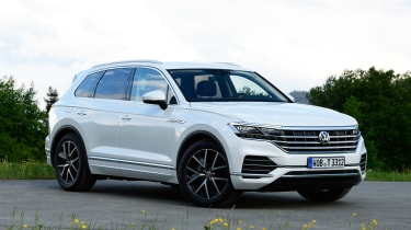 Volkswagen Touareg - front static