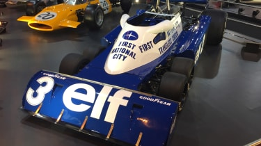 Tyrrell P34 - Retromobile
