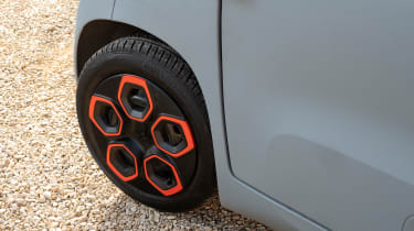 Citroen Ami long termer - wheel