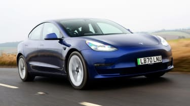 Tesla Model 3 - longest range electric cars