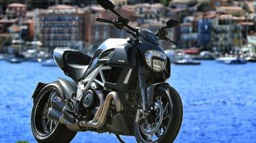 Ducati Diavel review - front static