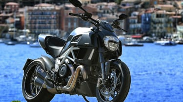 Ducati Diavel review - front static
