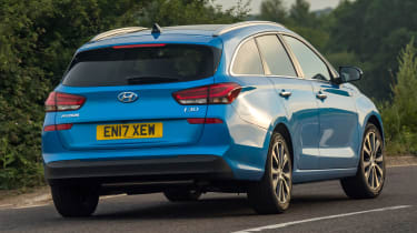 New Hyundai i30 Tourer 2017 - rear