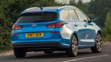 New Hyundai i30 Tourer 2017 - rear