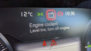 Volvo XC40 Recharge T5 long termer - first report coolant warning