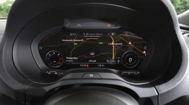 Audi A3 vs Volvo V40 vs Volkswagen Golf - A3 gauges