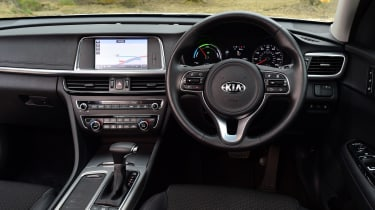 Kia Optima PHEV - dash