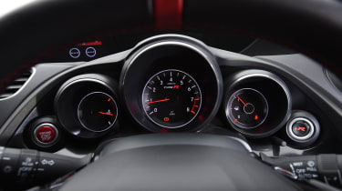 Honda Civic Type R long term - First Report instruments